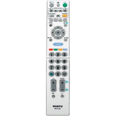 Daljinski za Sony Lcd RM-D764 beli